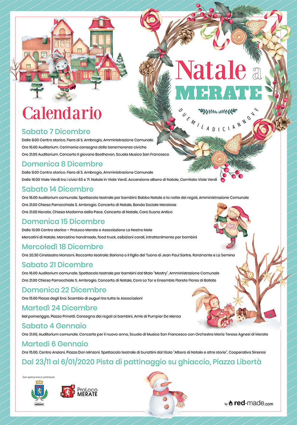 Natale a Merate 2019